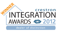 Crestron Award Winners 2012