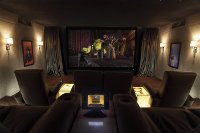 Dedicated Home Cinema Installation