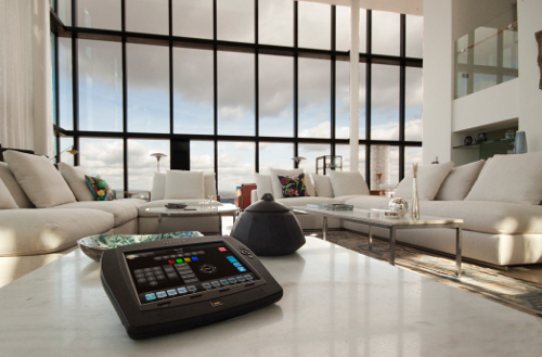 Crestron TPMC-8X in Formal Living Room