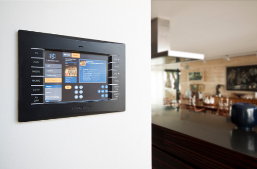 Crestron TPS-6L providing Whole Home Control