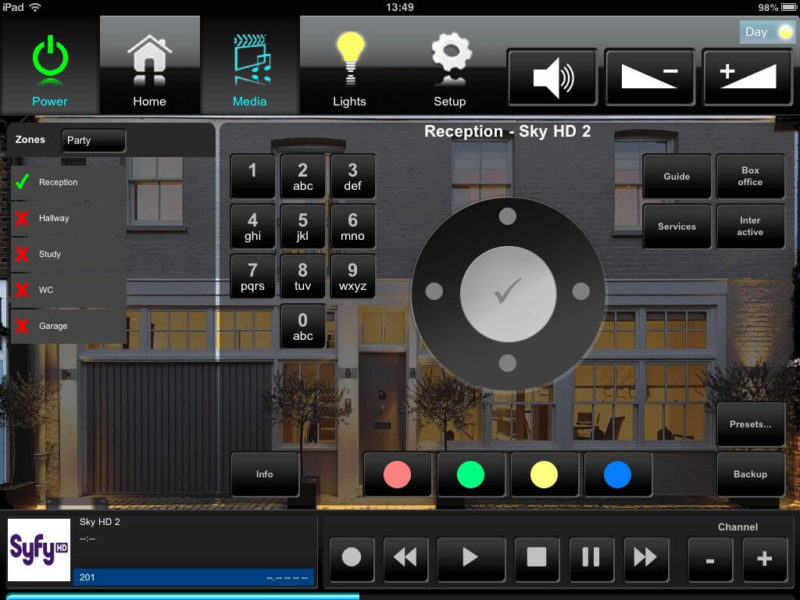 ipad sky 1 800x600 - Crestron Design & Programming