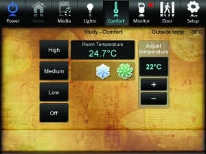 Crestron Heating Controls