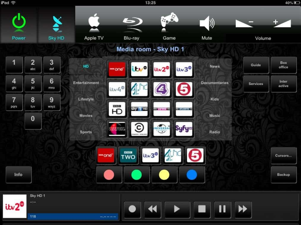 Crestron Touchpanel Design