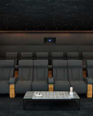 Home Cinema Room Seats