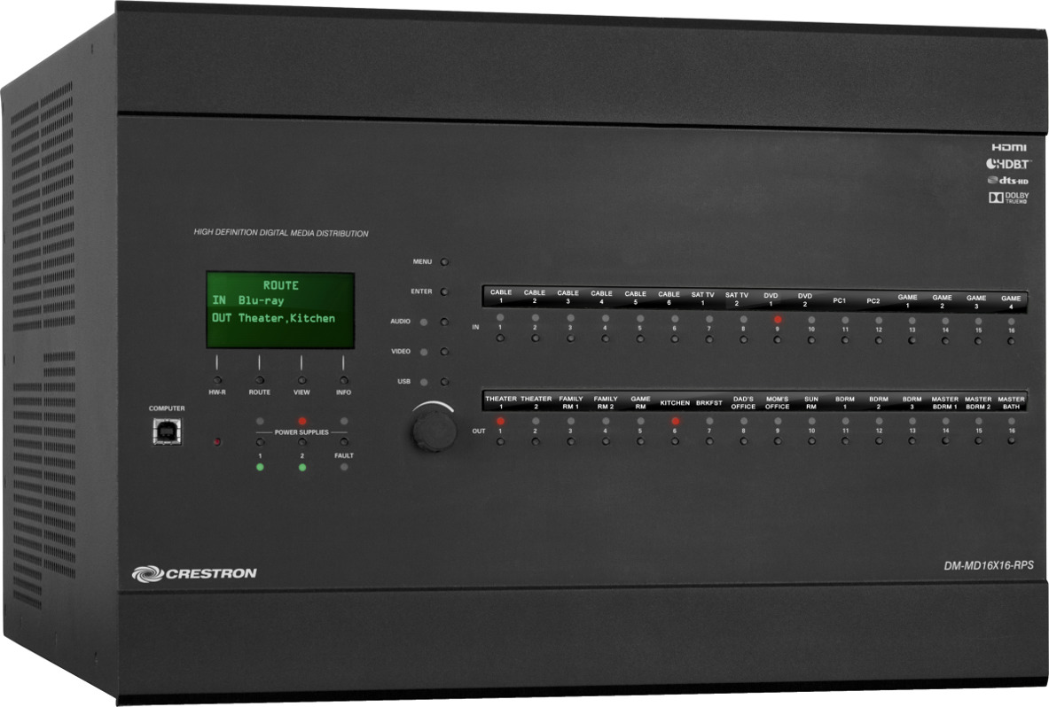 Crestron Digital Media System