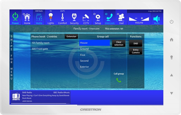 Crestron Intercom