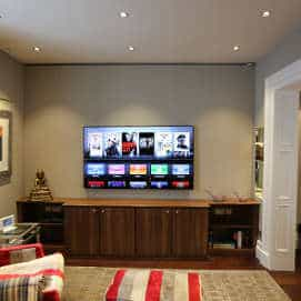 Crestron Audio Video & Lighting Control in Belgravia
