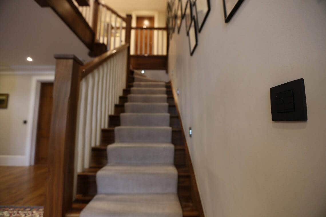 Case Study Whole House Crestron Lighting Installation Wimbledon Sw19 Dimmer Wire Diagram The Clients Love Reliability And Flexibility Of Their New System It Has Been A Pleasure To Replace Tired Old One With Modern