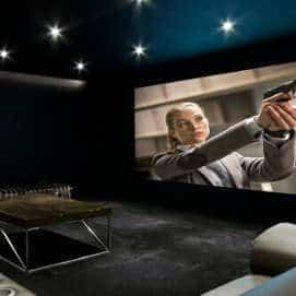 Dedicated Home Cinema Room in Derby