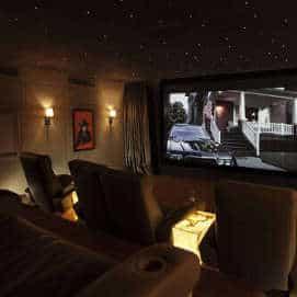 Dedicated Home Cinema Room in Dubai