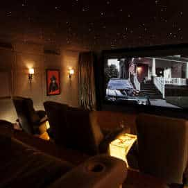 Dubai Home Cinema Room