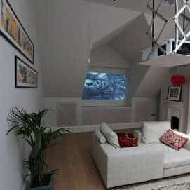 Attic Home Theater in North London