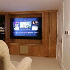Basement Home Cinema Installation