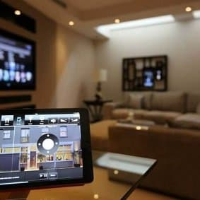 iPad Controlling Audio Video System