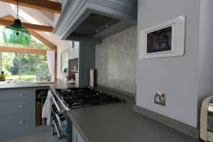 Kitchen In-Wall iPad dock