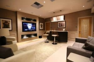 Basement Snug AV