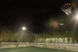 Basketball Court Audio System