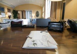 Crestron Install W1 - Claridges Living Room Touchpanel