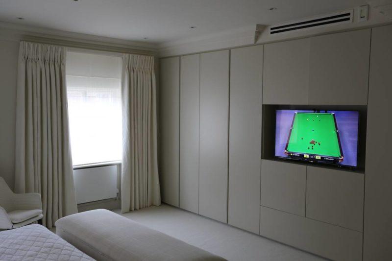Crestron Installation W1 Bedroom 800x533 - Crestron Audio Distribution & Control