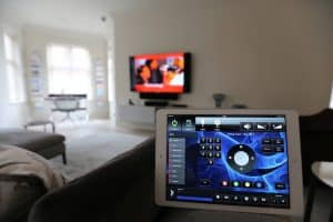 Crestron Installation W1 iPad Controller