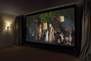 Dubai Home Cinema Screen