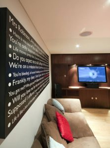 Home Cinema Install NW1 Full Room
