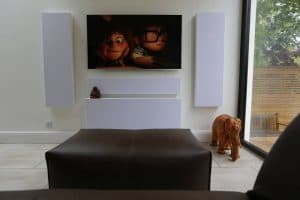 Home Cinema Installation W8 Front View
