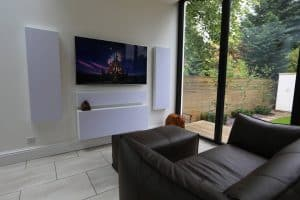Home Cinema Installation W8 Showing Artcoustic