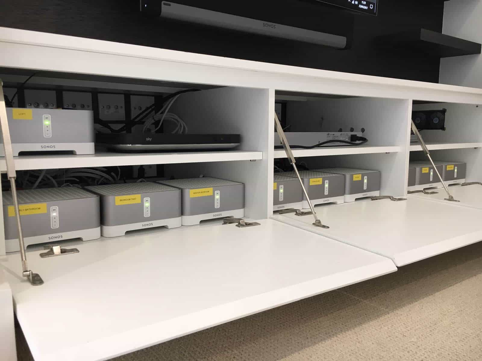 Multi-Room Audio Putney Sonos Connect Amplifiers