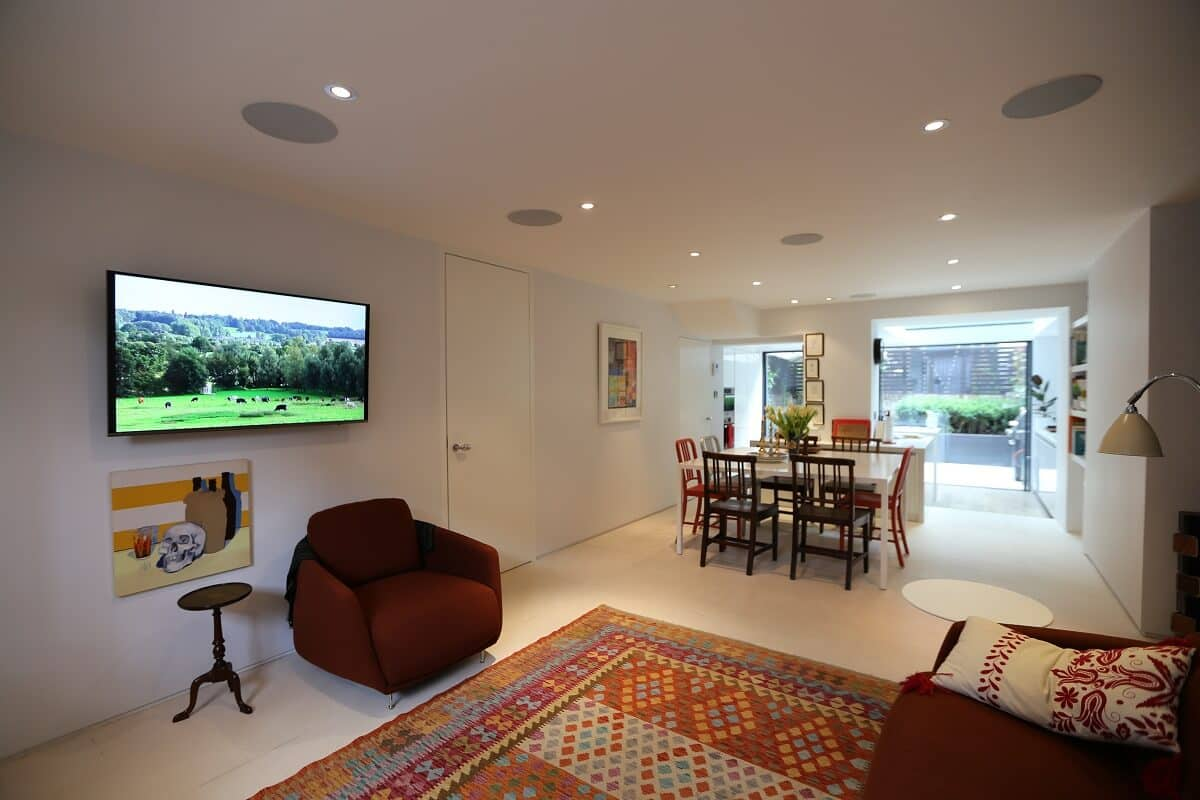 Crestron Installation Primrose Hill Family Room