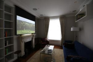 Crestron Installation Primrose Hill Formal Living Room
