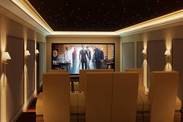 Bespoke Home Cinema Room - Case Study: World Class Trinnov Home Cinema Installation Africa