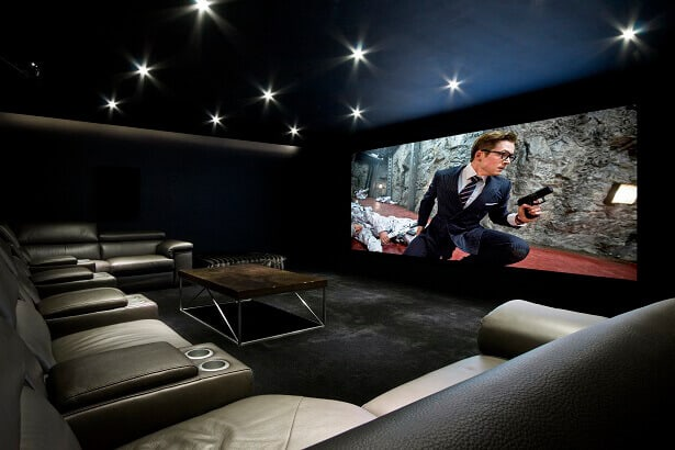 Derby Home Cinema Room - Crestron Home Automation | Entertainment | Lighting | Cinema Specialists