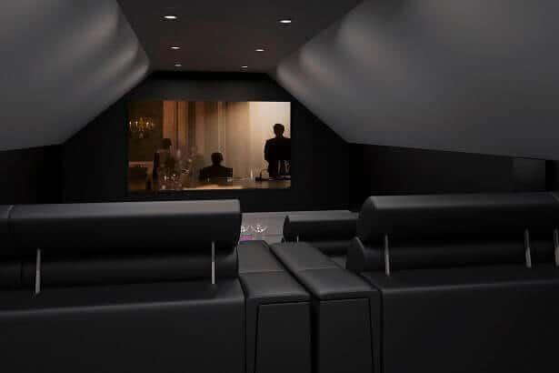 Surrey Loft Home Cinema Room - Case Study: Loft Home Cinema Installation Surrey - A Stunning Cinema!