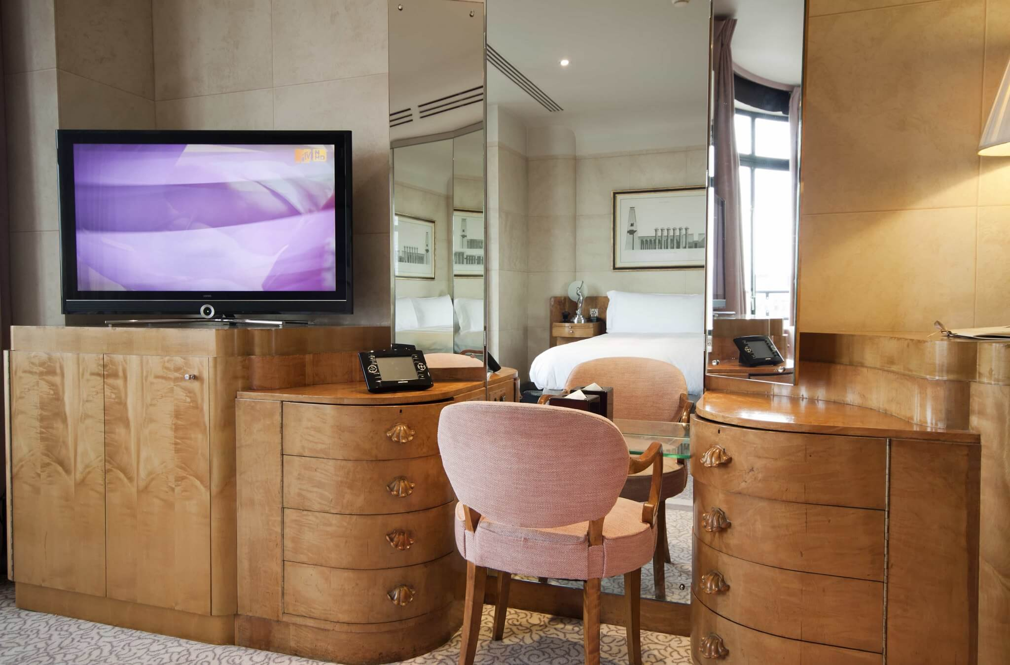 Crestron Installation Claridges Hotel