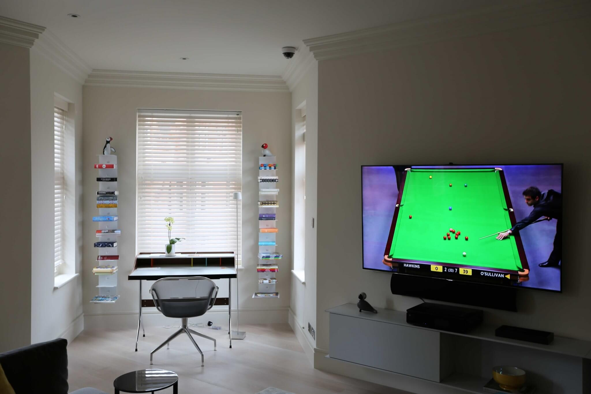Living Room Surround Sound in Mayfair