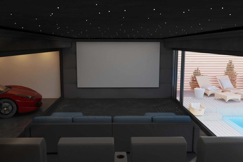 Cheshire Home Cinema Installation 3 800x534 - Garden Home Cinema Rooms in London & Cheshire