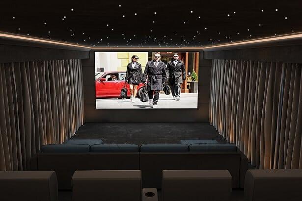 Cheshire Home Cinema Installation - Case Study: Cheshire Home Cinema Installation | Garden Cinema Room