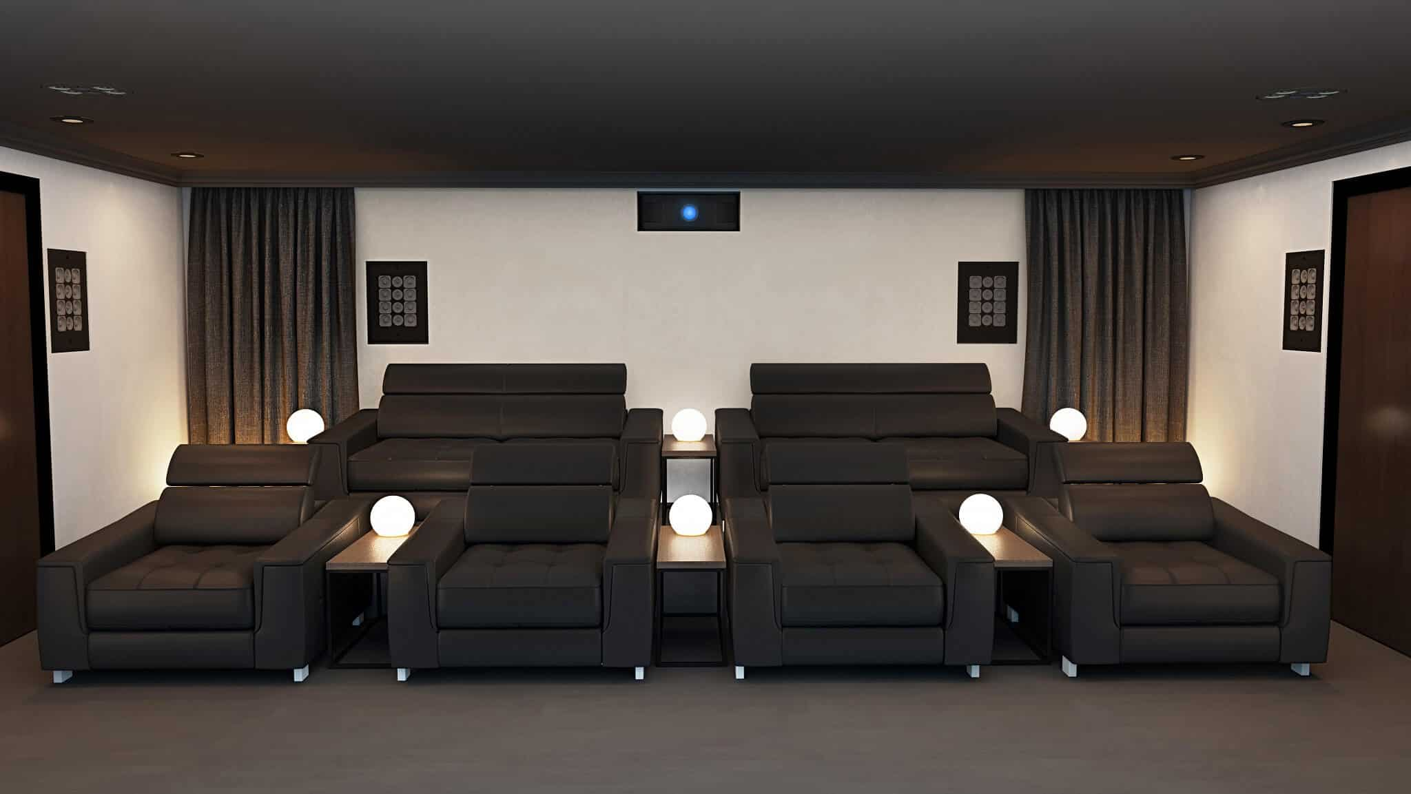 Home Cinema Room - Rear Speakers