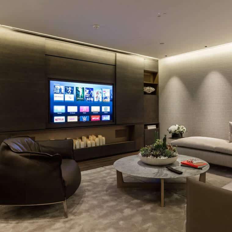 Crestron Showroom London - Lounge Area