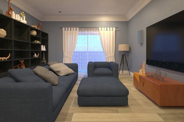 Chelsea Living Room Cinema