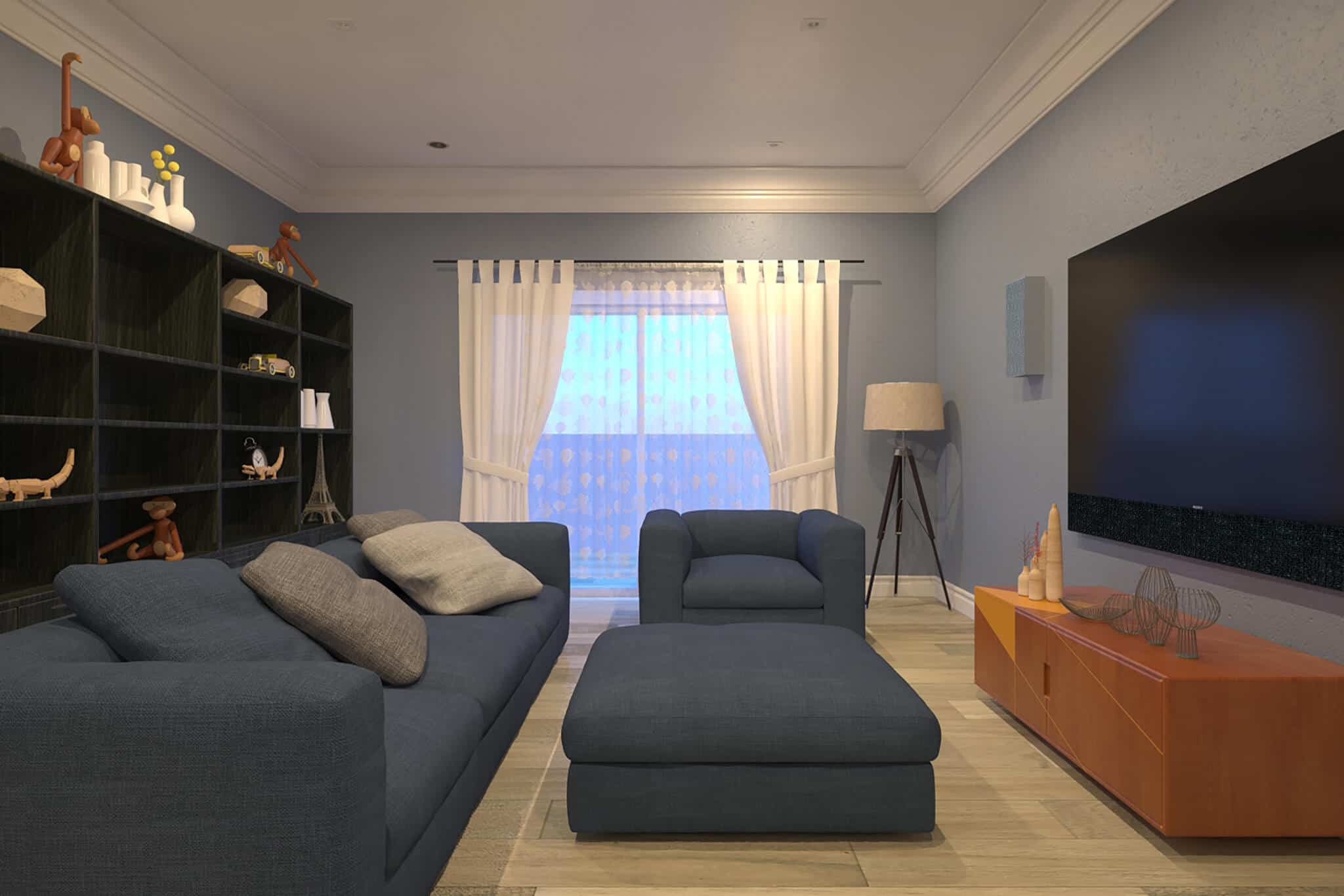 Chelsea Living Room Surround Sound Installation