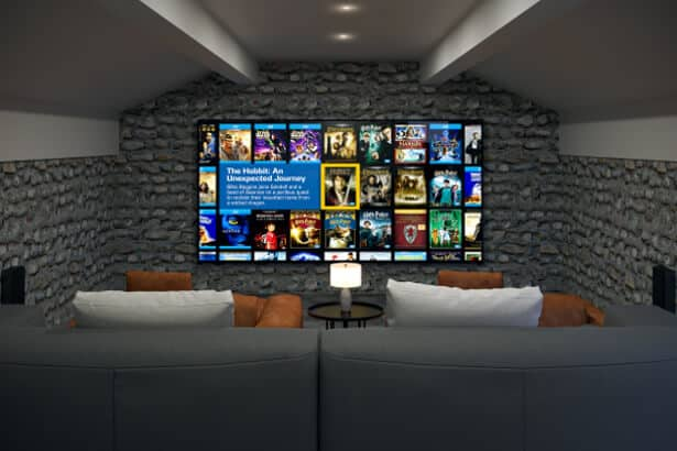 Lake District Home Cinema Installation