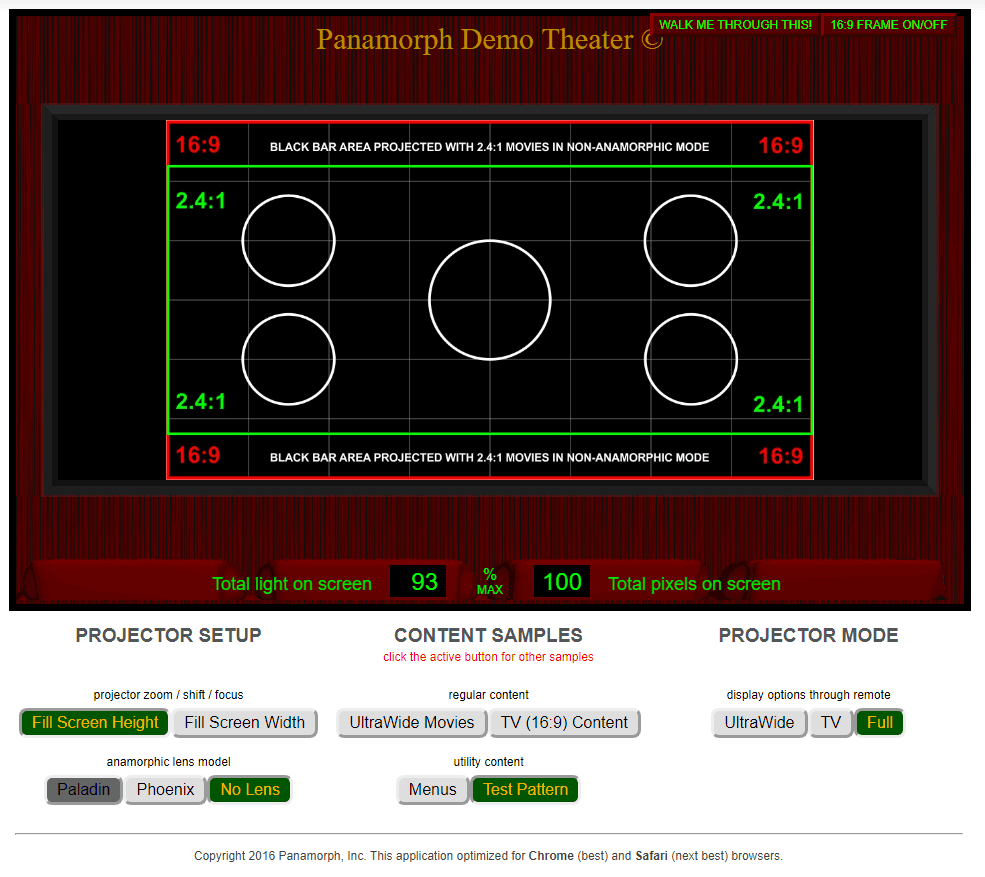 Panamorph Demo Theater