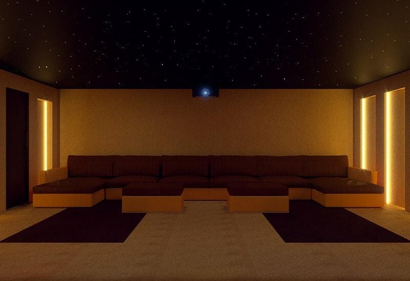 Double Garage Home Cinema