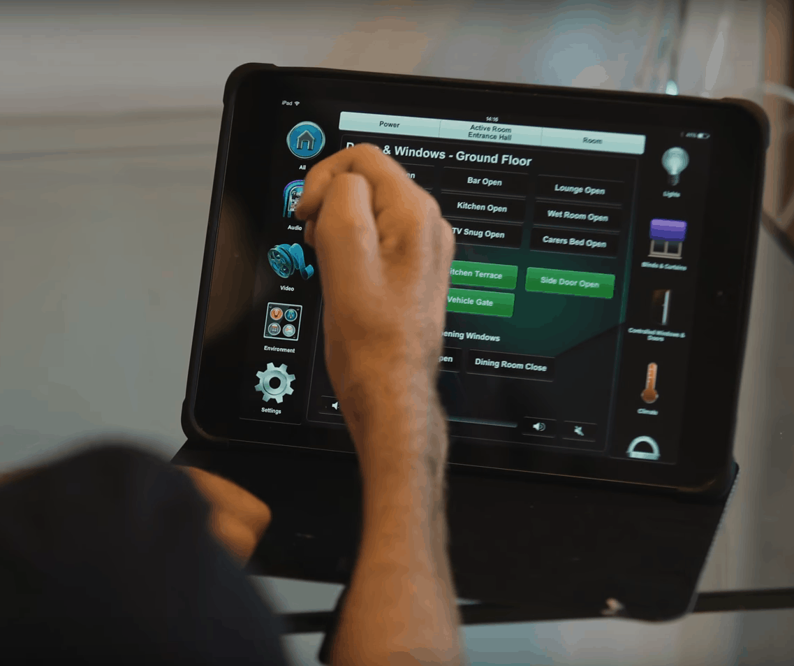 Crestron for Disabled Clients