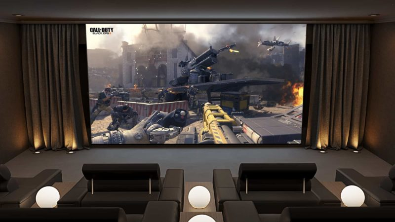 Ultimate Gaming Room 800x450 - The Custom Controls Home Blog - Informal Articles & Inspiration