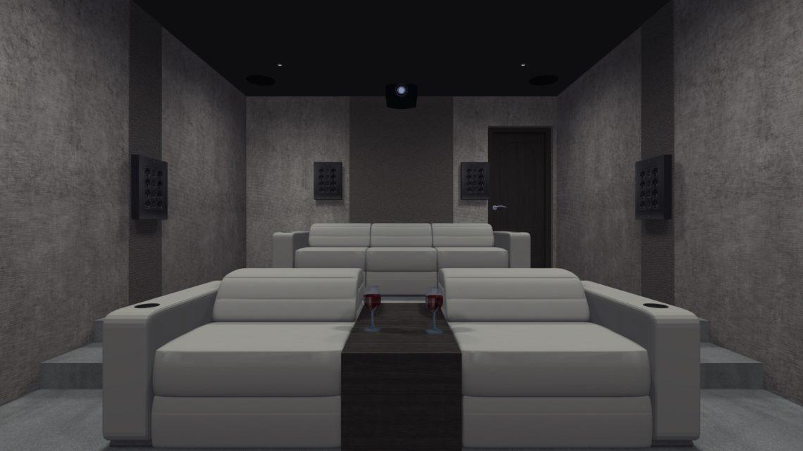 Home Cinema Room Rear Speakers on Show 1140x641 - Home Cinema Room Design - Nigeria