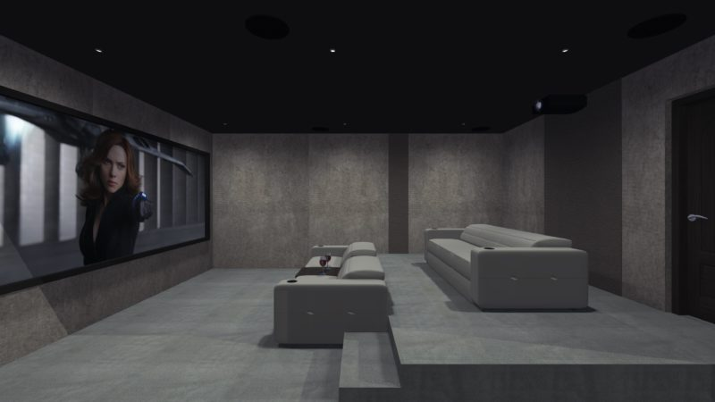 Home Cinema Room Side View 800x450 - The Custom Controls Home Blog - Informal Articles & Inspiration