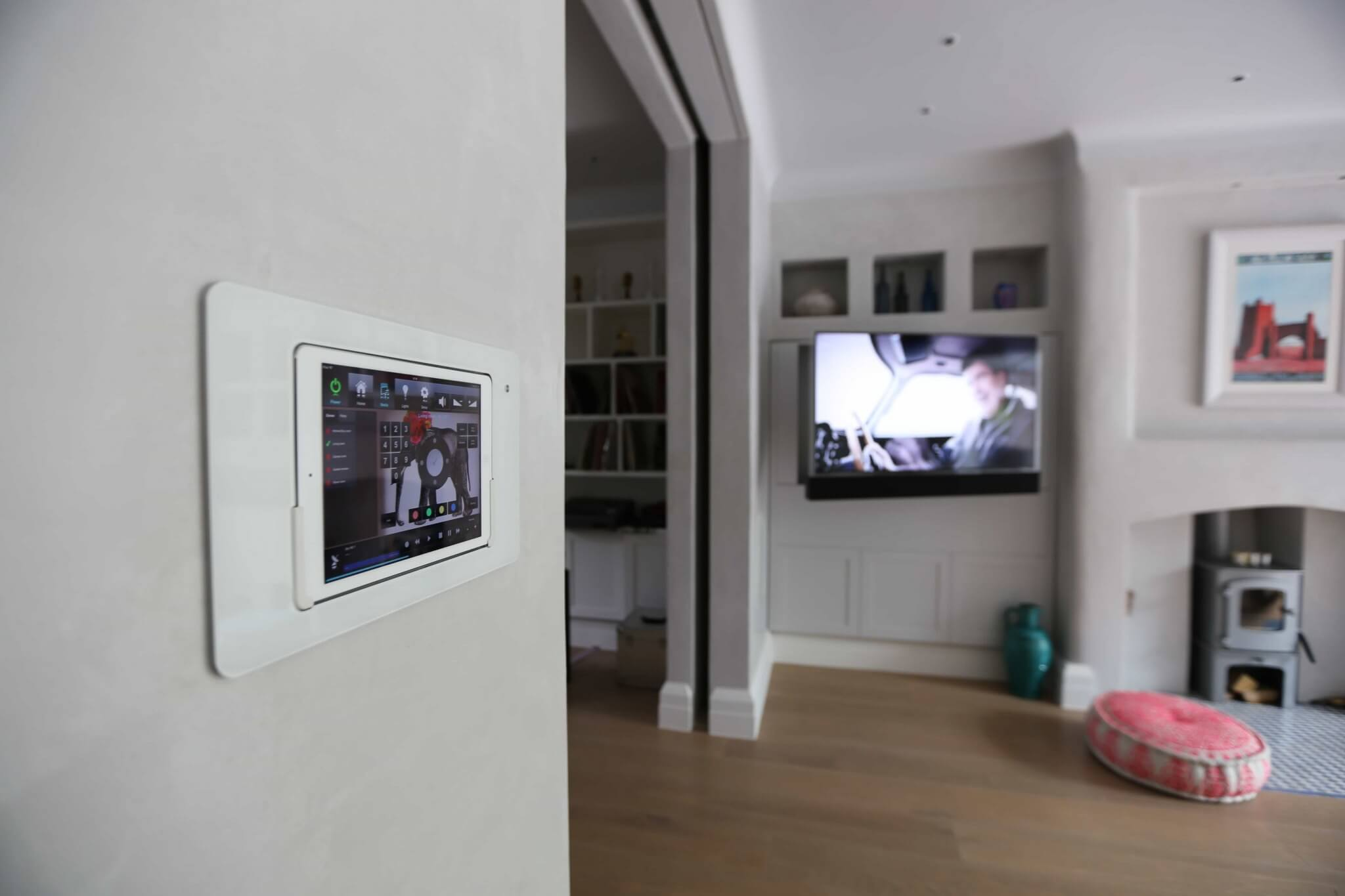 iPad in-wall solution for Crestron Control